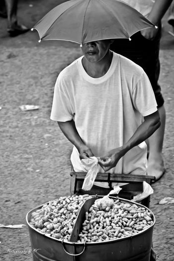 The steam Peanut Vendor.. Taking Photos Eyeem Philippines