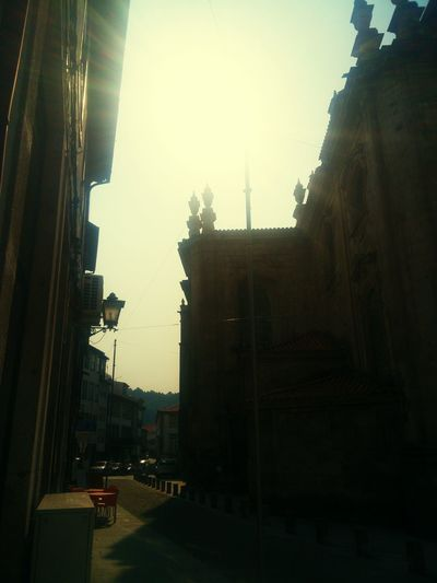 Portugal Hello World Douro  Lamego Old Sky Sun Churches Church