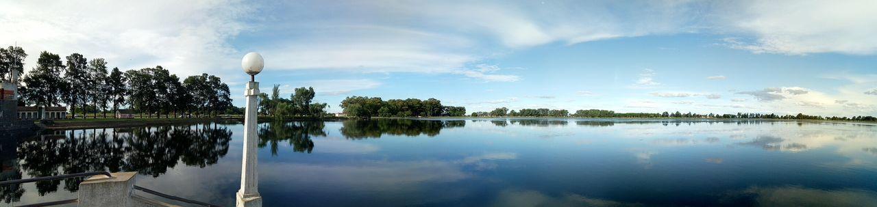 Laguna Panorámica Tree Water Lake Reflection Sky Cloud - Sky Landscape