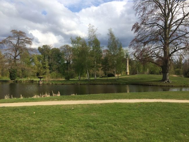 #Potsdam Beauty In Nature Cloud - Sky Day Grass Green Color Growth Landscape Nature No People Outdoors Scenics Sky Tranquility Tree Water