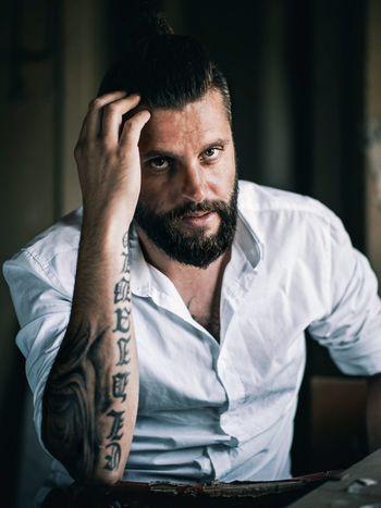 Denny Tattoo Life Portraits Malemodel  Shooting Film Film Photography Tattoo Tattooed