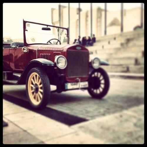 Old Ford Car at NDU