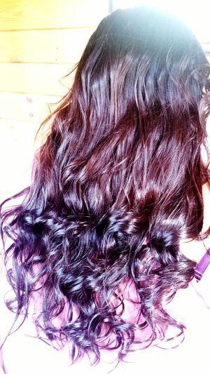 Hair Hairstyle Hairstyles Haircut Long Hair Curly Hair Ombre Hair Unprofeshhairstyling Homehair Newhaircolour