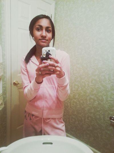 I feel like a pink bunny