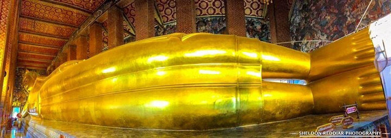 Leaning Buddha at Wat Pho Religion Spirituality Place Of Worship Bangkok Thailand. Thailand Temple Architecture Cultures Wat Pho Leaning Buddha