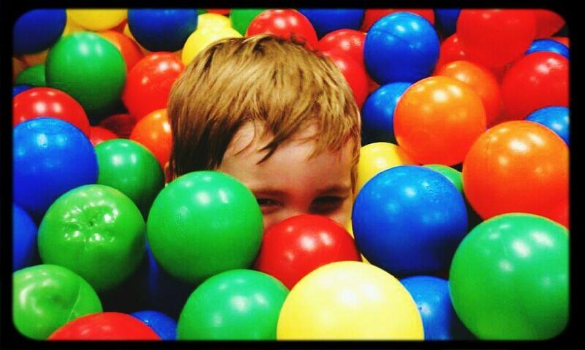 Kids Playing Fun Hanging Out