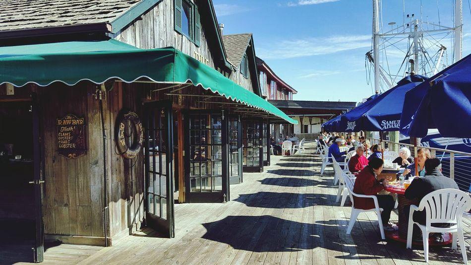 Wharf SEAFOOD🐡 Tables Fishing Port