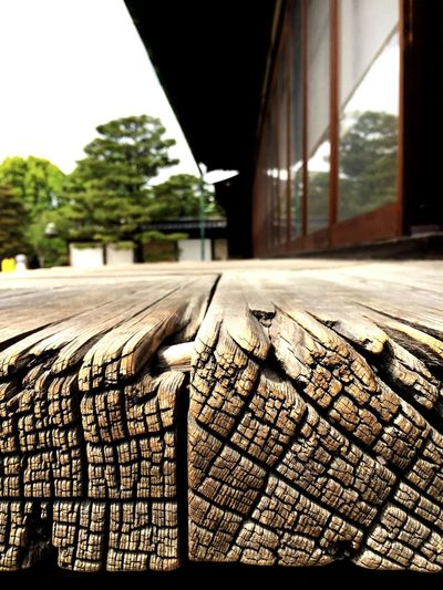 Japanese Temple Wood Terrace