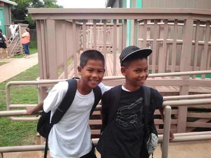My twins. Dylen & Dayven