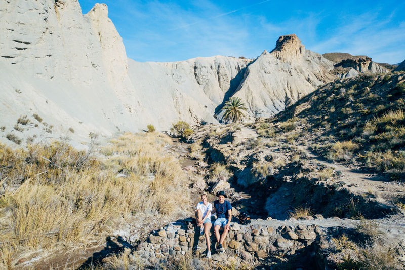 DJI X Eyeem Desert Wild West Adventure Aerial View Beauty In Nature Climbing Day Desert Landscape Glacial Hiking Landscape Mountain Mountain Range Nature Outdoors Physical Geography Real People Rock - Object Sand Scenics Sky Tabernas Desert Western
