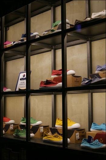 밤 10시 이후 아무도 없는 명동 Snapshot Shoes A700 Show Windows
