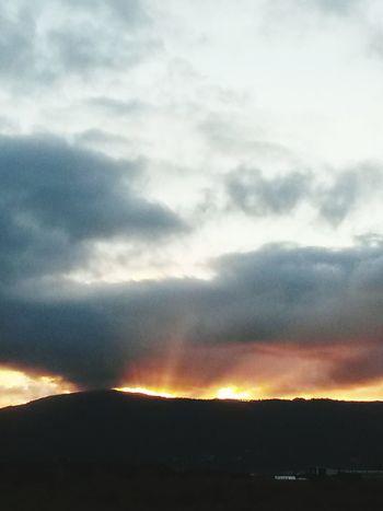 Atardecer Sunset Nature_collection Sun _ Collection  EyeEm Nature Lover Galicia Españoles Y Sus Fotos