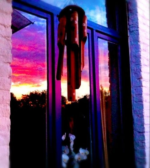Reflection Sunset Sky_collection Sky And Clouds