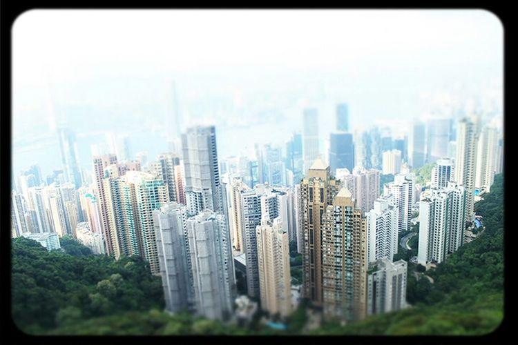 View from Thepeak HongKong