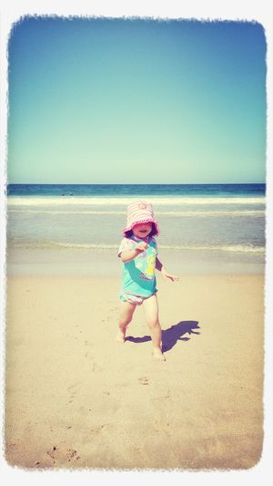Beach babe Fun In The Sun On The Beach Playtime At The Beach
