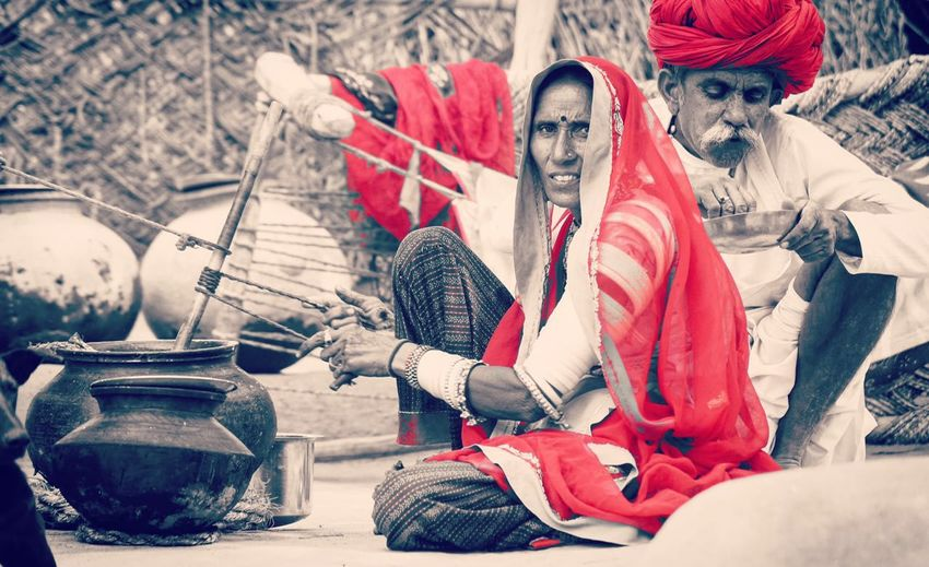 Bestoftheday Living The Dream Love Is In The Air Expectional Photography Showcase April Selective Focus Awesome_view Nikonphotography Mycollections My Year My View EyeEm Gallery Show Us Your Takeaway! From My Point Of View Rajasthandiaries Eyemphotography EyeEm Best Shots The Picture Says It All  Black And White Photography Tea Time Indian Culture  Rajasthani Culture People Together Incredible India,@ Samdhari Rajasthan The Street Photographer - 2016 EyeEm Awards This Is Aging This Is Family Adventures In The City