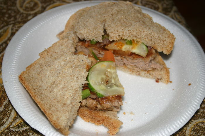 Sandwich Wholewheat Healthy Eating Food