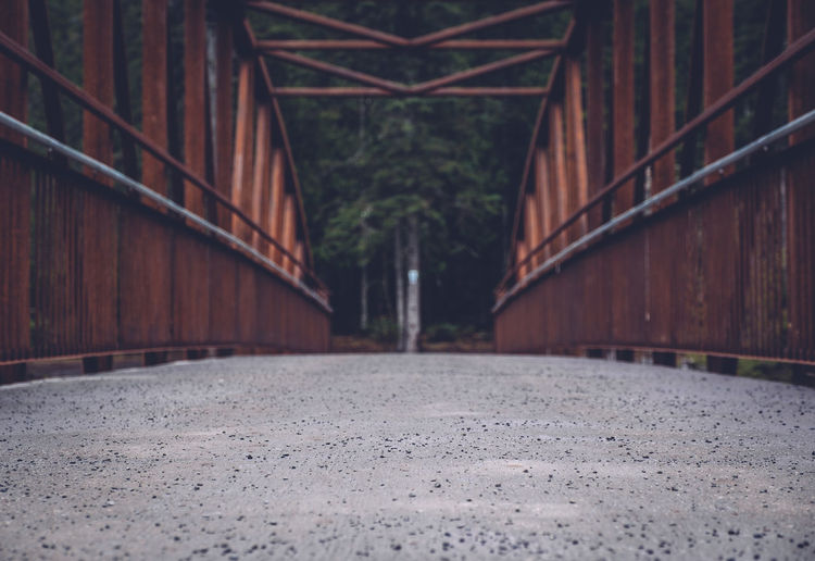 Surface level view of bridge