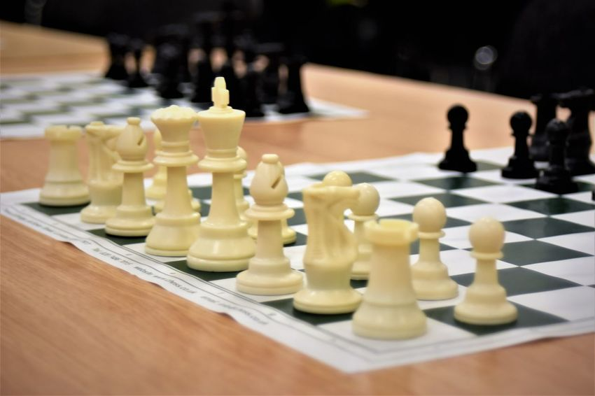 Board Game Chess Chess Board Chess Piece Close-up Competition Indoors  King - Chess Piece Knight - Chess Piece Queen - Chess Piece Strategy Table