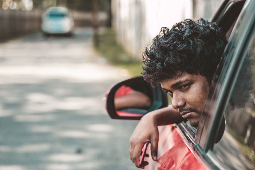 Travel Car Day Focus On Foreground Hairstyle Headshot Land Vehicle Leisure Activity Lifestyles Looking Looking Away Mode Of Transportation Motor Vehicle One Person Outdoors Portrait Real People Side View Tamilnadu Tired Transportation Travel Water Yercaud Young Adult The Traveler - 2018 EyeEm Awards The Portraitist - 2018 EyeEm Awards