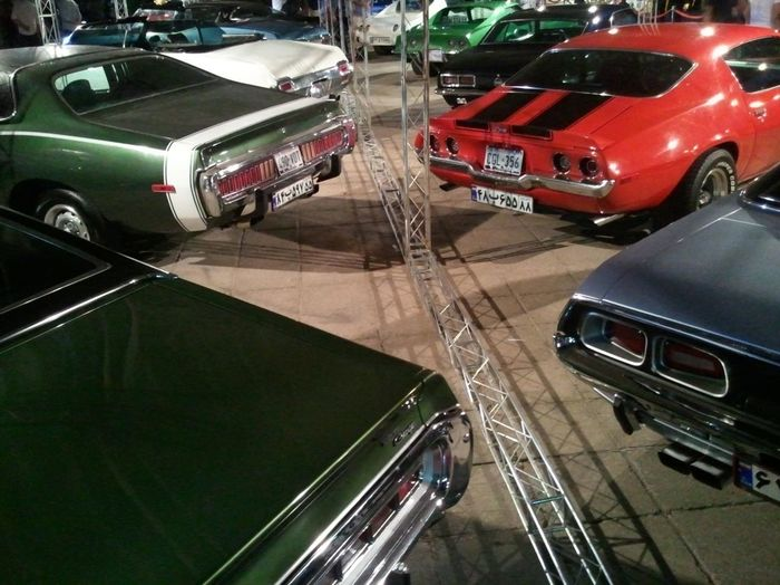 American Muscle Classic Car Tehran Iran
