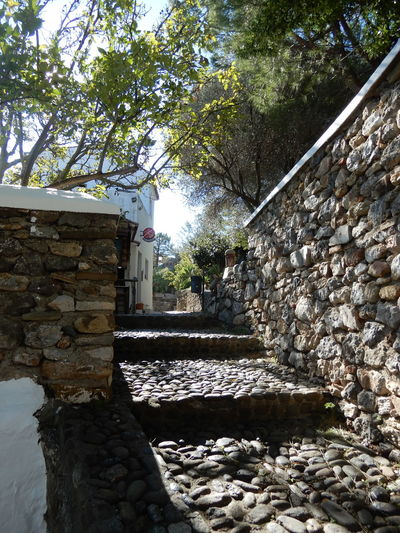 Stone alley way