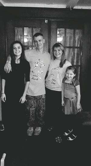 My amazing family!!! I love you Adam, Hailley & my sweet Emily.