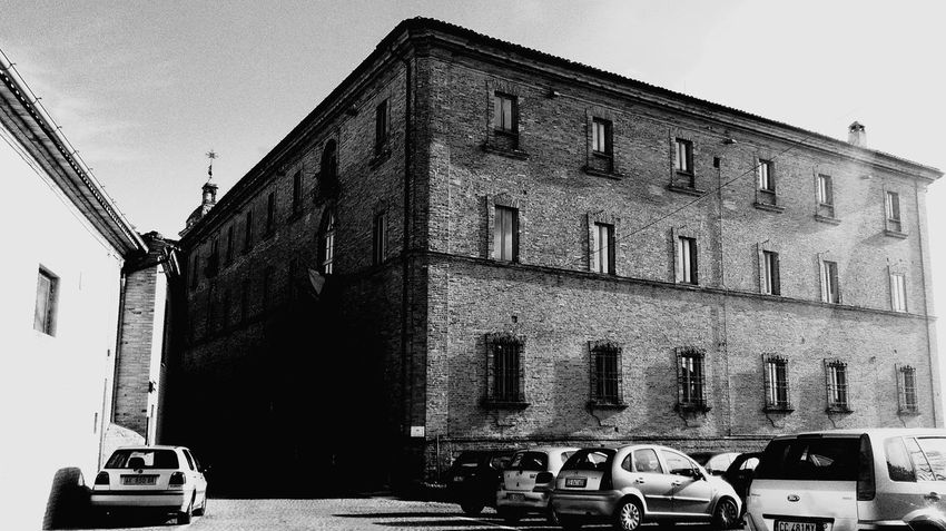 Montecosaro My Favorite Place Scenics My Point Of View Building Building Exterior Built Structure Architecture Sky Car Outdoors No People Day Old Buildings Historical Building The Soul Light Light And Shadow