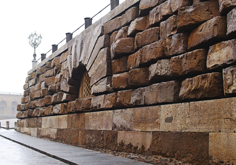 Pitti Palace. Architecture Built Structure Wall Building Exterior Sky Wall - Building Feature No People Day Stone Wall Nature Low Angle View Brick Clear Sky Brick Wall Outdoors The Past History Building Surrounding Wall City Pitti Palace EyeEmNewHere