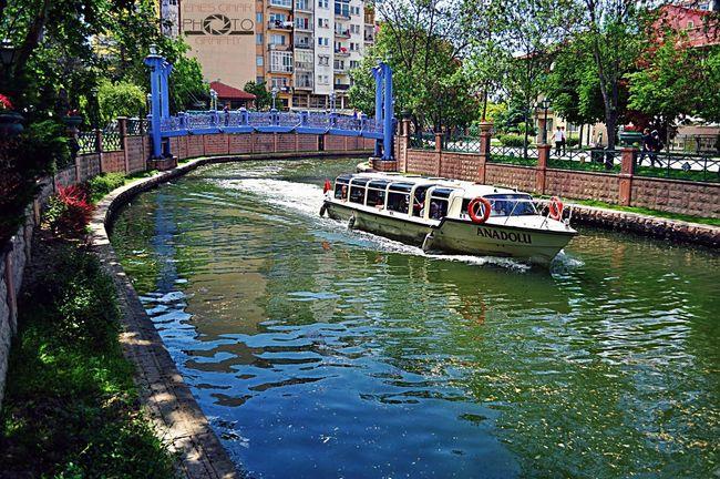 Eskişehir Boat Bridge Photography