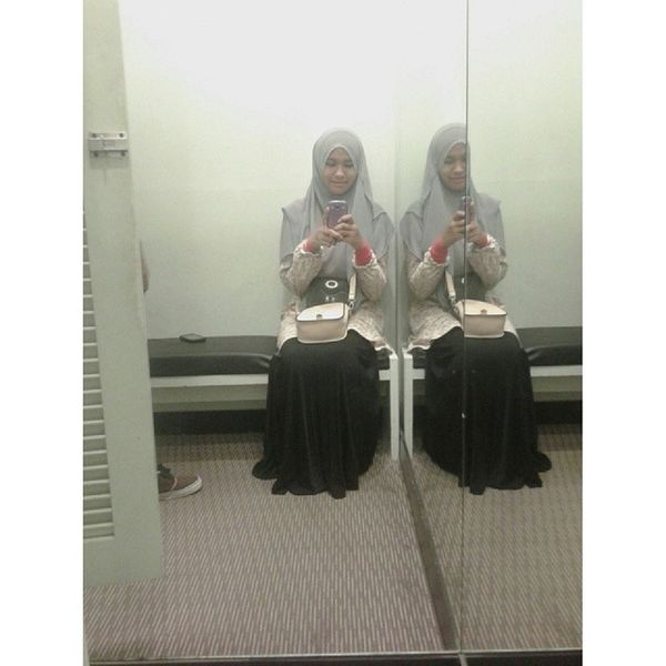 Selfie dulu. Rindu Throwback Eastcoastmall