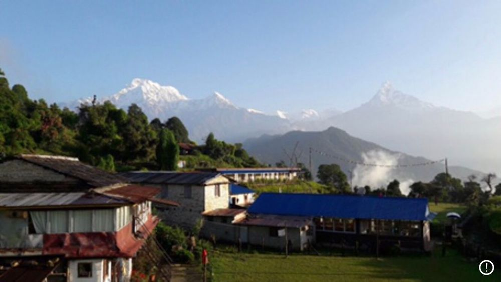Anapurna Nepal Architecture Nature Built Structure House Go Higher Landscape Beauty In Nature