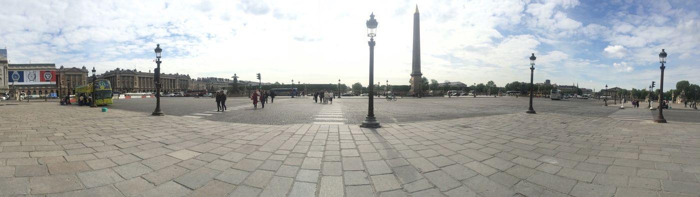 Place de la Concorde, Paris ☀️ Paris Place De La Concorde France Sunny Day