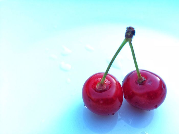Sour cherry Sour Cherry EyeEm Nature Lover Food And Drink Red Food Healthy Eating Cherry Freshness Fruit Close-up White Background Studio Shot