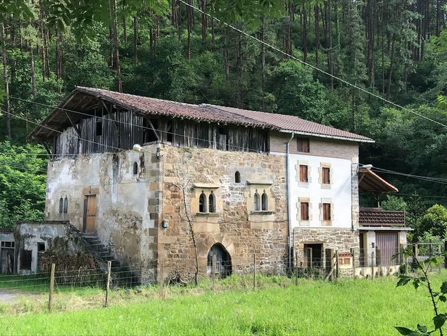 Built Structure Building Exterior Architecture Building House Green Color Nature Old