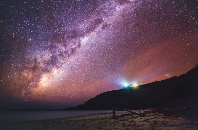 The Milky way rising over the pacific ocean at South West Rocks Australia Byron Bay Constellation Galaxy Light House Nightphotography Wave Adventure Astro Astronomy Astrophotography Beach Headland Long Exposure Milky Way Milkyway Night Ocean Outdoors Pacific Ocean Sea Star Water