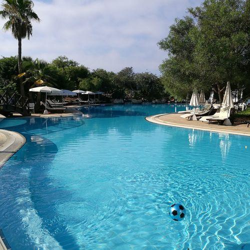 Poolside, Cyprus, Holiday