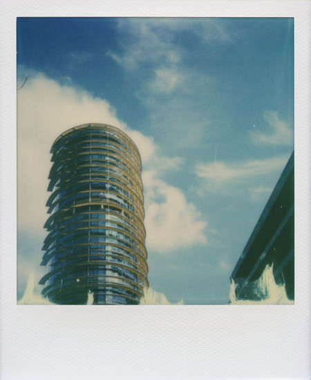 Offices - Roidweek 2016 Architecture Blue Blue Sky Building Impossible Impossible I-1 Impossible Project Instant Minimal Minimalism Minimalistic Modern Modern Architecture Office Polaroid Polaroidweek Roidweek Roidweek2016 Simple Simple Composition Sky Urban