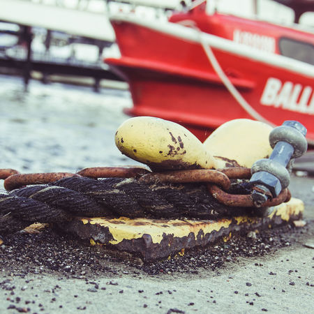 Harbor Pier Chain Nautical Vessel No People Outdoors Shekel Water