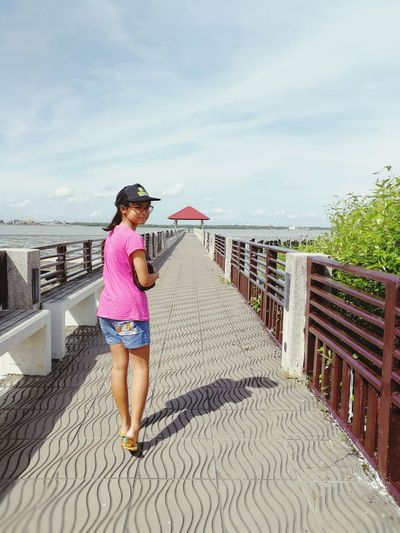 Second Acts Asian  Girl Travel Tourism Thailand Thai Samut Prakan Harbour King Rama Fort Chulachomklao Chulachomklao Fort Holiday