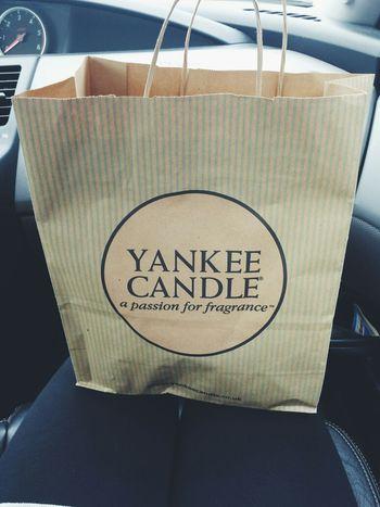 Yankee Candle Taking Photos
