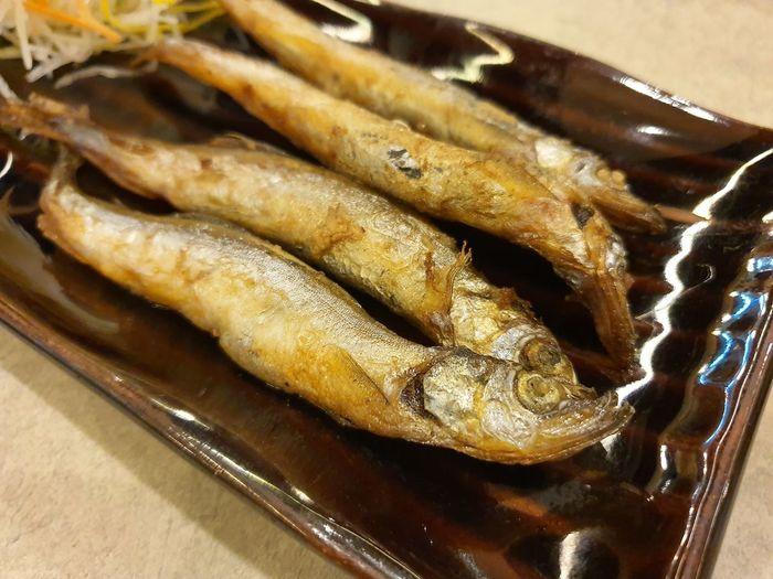fried shishamo