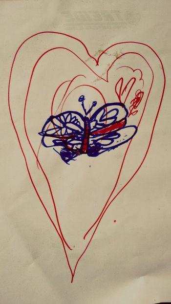 Da série de desenhos da minha pequena Drowning My Doughter