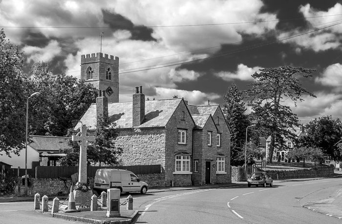 Church view, Lavendon, Buckinghamshire Pubs Monochrome Village Black And White Architecture Buckinghamshire Buckinghamshire Pubs