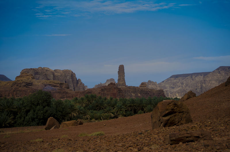 The Rock City Sky Rock Tranquil Scene Landscape Scenics - Nature Rock Formation Tranquility Environment History Rock - Object The Past Nature No People Architecture Land Travel Destinations Mountain Solid Beauty In Nature Blue Ancient Civilization Climate Outdoors Arid Climate Archaeology