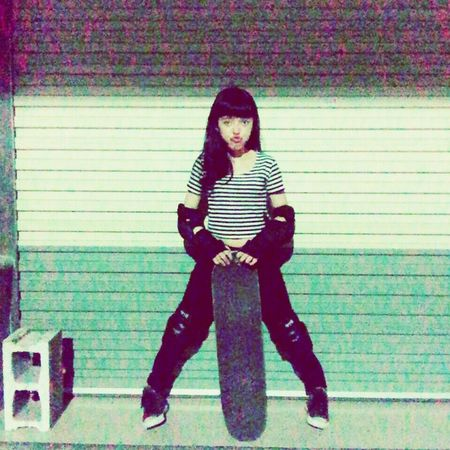 Skateboard Yesterday Night Relaxing Enjoying Life Nice Day Dream Hi! Cheese!