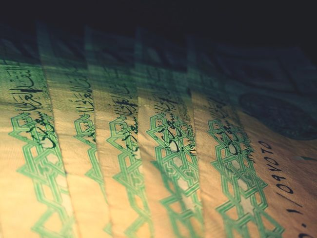 Paper Currency Currency Finance Day Kingdom Of Saudi Arabia Princess ♥