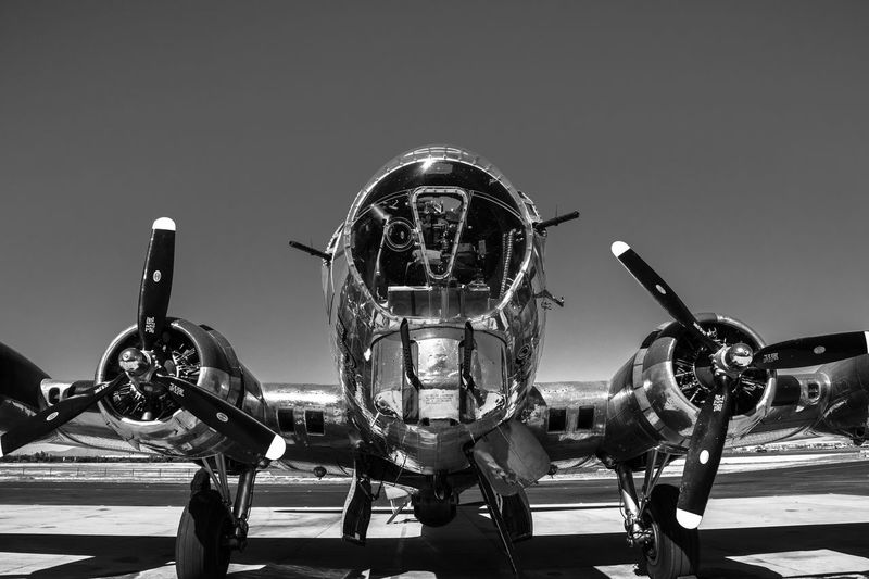 Airplane B-17 Bomber Commemorative Air Force Falcon Field, Mesa, AZ Low Angle View Sentimental Journey World War II EyeEmNewHere