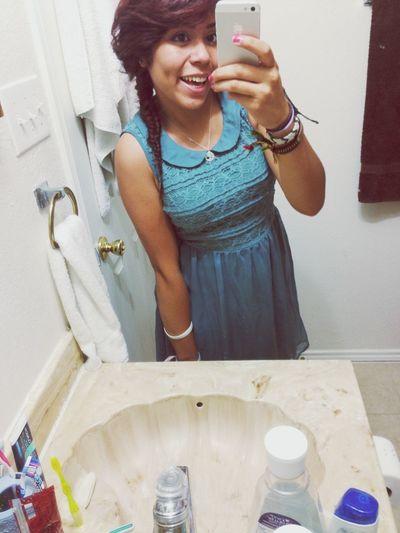 happy me ha Fishtail Braid Dress