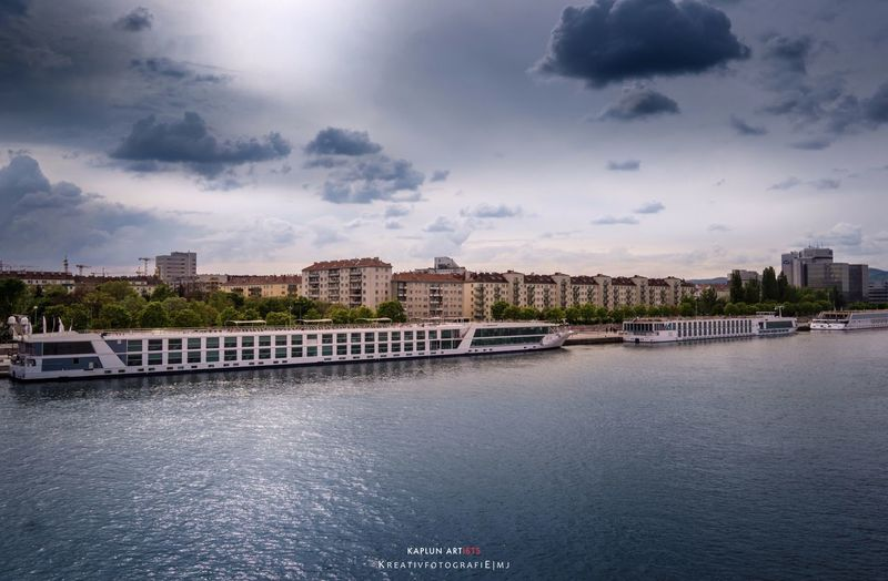 View over Vienna View River Vienna City Kreativfotografie Mj Travel With Mj Cityscapes Austria EyeEm 2016 Alphaddicted Water Water Reflections Donau Sky Skyporn Sky And Clouds Sony Sonyalpha A6000 EyeEm Best Shots Europe Exploring Travel Photography Travel